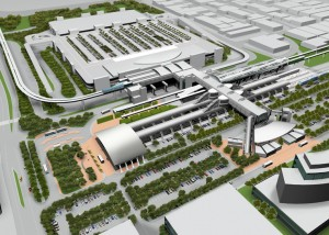 Rendering of Miami Central Station