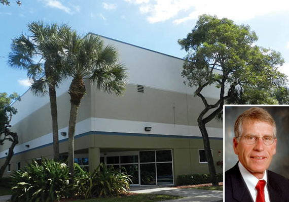 3600 Northwest 54th Street in Fort Lauderdale and Chromally CEO Dave Squire
