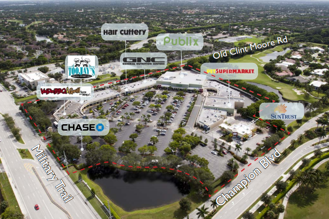 Polo Club Shoppes and its anchoring tenants