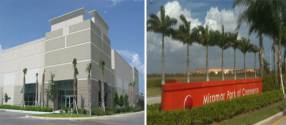 Sawgrass 1 Building A and the Miramar Park of Commerse