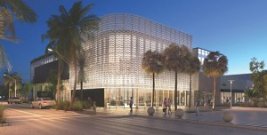 Nike Store rendering on Lincoln Road in Miami Beach