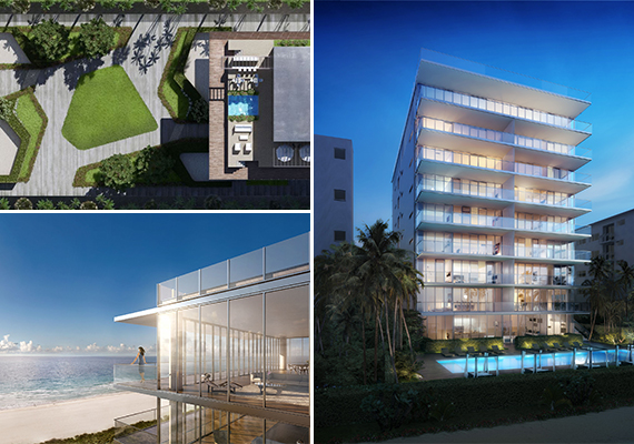 Renderings of 321 Ocean