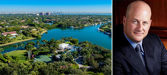 555 Leucadendra Drive in Gables Estates and Howard Wolofsky of EWM