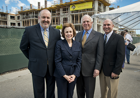 Sinai Residences topping off ceremony