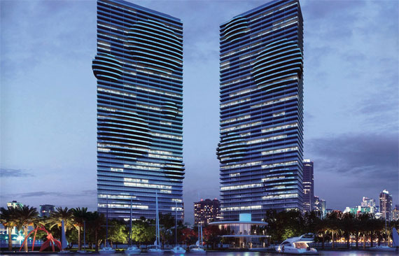Fortune is marketing Paraiso Bay in Greater Downtown Miami.