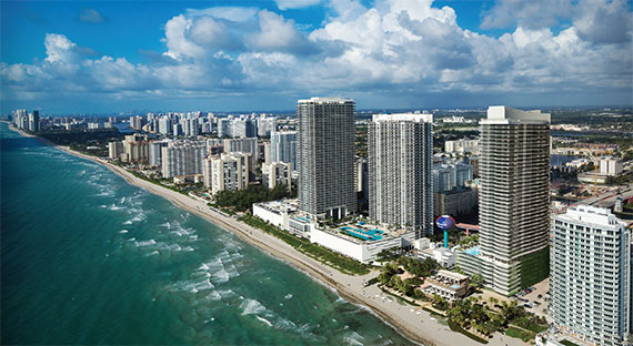 Related's Hyde Beach Resort and Residences project received a $102 million construction loan from Blackstone.