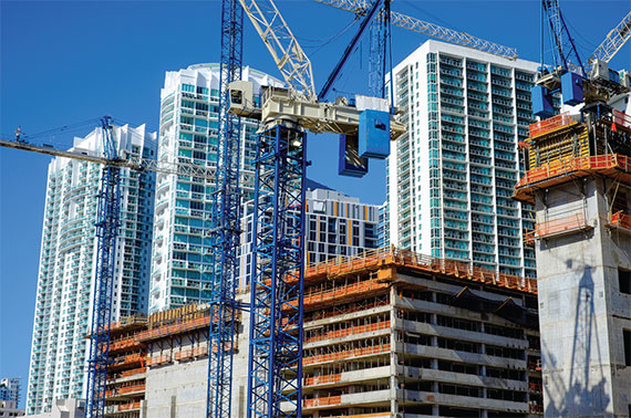 Investment and private equity funds are pouring money into South Florida projects this cycle.