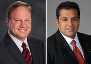 Mark Corlew and Anuj Grover of Grover & Corlew