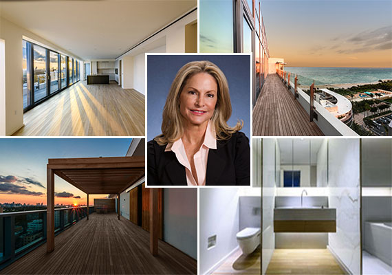 Penthouse 1405 and Toni Schrager of Avatar Real Estate Services
