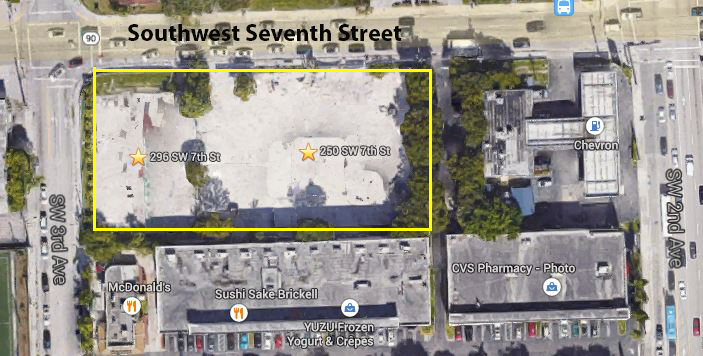 Brickell development site