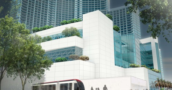 Rendering of the Marriott Marquis Miami Worldcenter