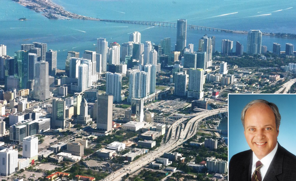 Miami skyline and Chris Zoller