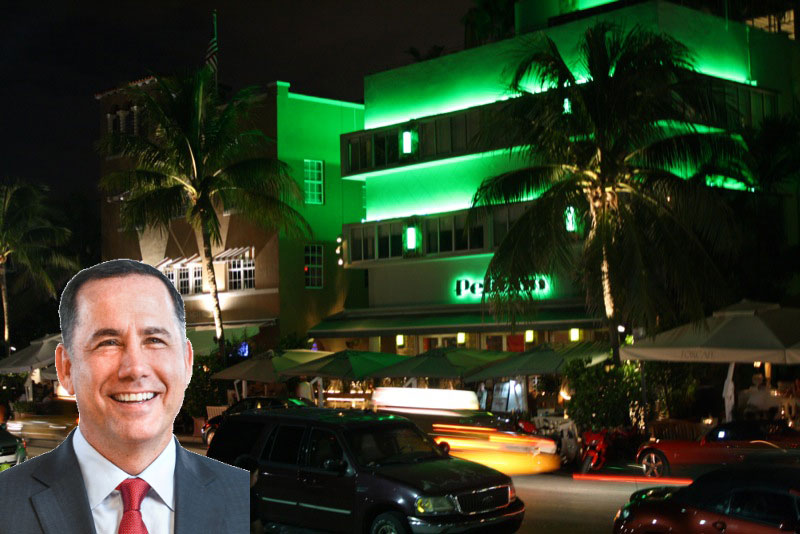 Ocean Drive and Mayor Philip Levine
