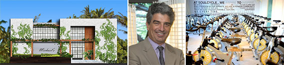 Rendering of Paraiso Bay Restaurant and Beach Club, Carlos Rosso and a SoulCycle (Credit Miami