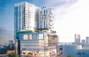Triptych would bring 297 hotel rooms and tens of thousands of mixed-use space to Midtown Miami