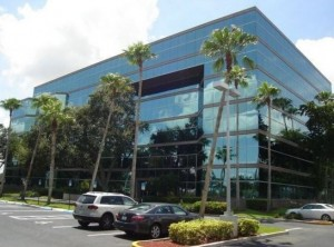 The office building at 600 West Hillsboro Boulevard in Deerfield Beach
