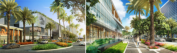 Renderings of upgrades to Bal Harbour Shops