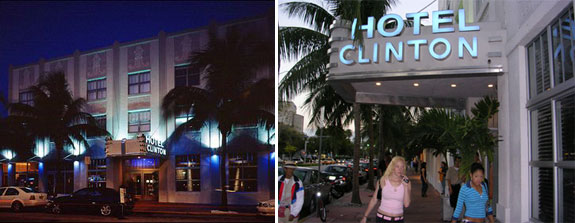 The Clinton Hotel in South Beach