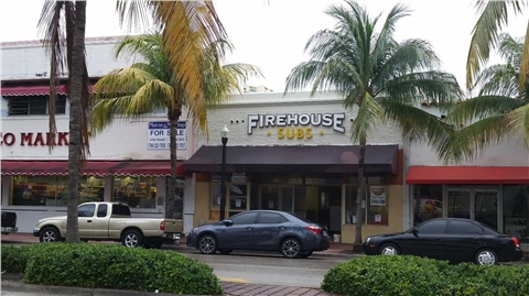 Firehouse Subs in Miami Beach