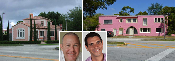 two pink houses and lyle and maricio