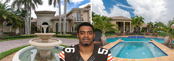 16850 Stratford Court in Southwest Ranches and Karlos Dansby