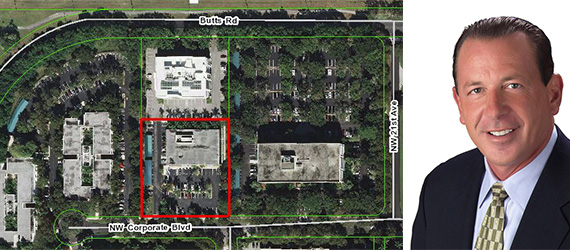 2201 Northwest Corporate Boulevard in Boca Raton, and Glenn Gromann