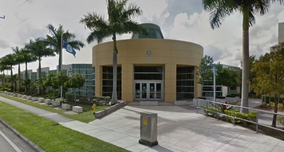 The Oakland Park immigration offices at 4451 Northwest 31st Avenue