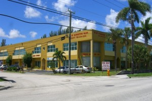 The offices at 9300 Northwest 25th Street in Doral