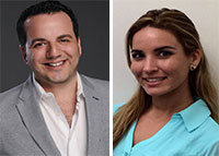 Levi Meyer and Yvette Blanco of Fortune International Realty