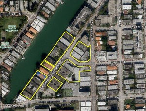 A map of Ytech's purchase in North Beach