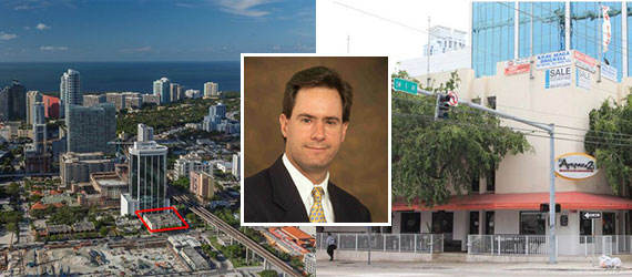 The property at 90 Southwest 8th Street and Alfonso Jaramillo of Fortune International Realty