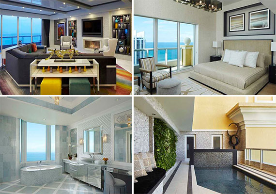 The Acqualina penthouse for rent