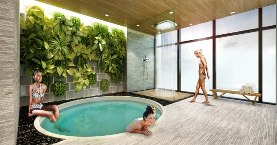 Brickell Heights spa