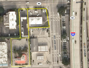 Development site near Brickell and Little Havana