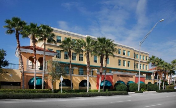 The Riverwalk Center office building in Jupiter