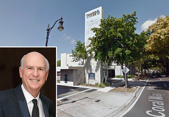 Jimmy Resnick and the Chase Bank on Coral Way