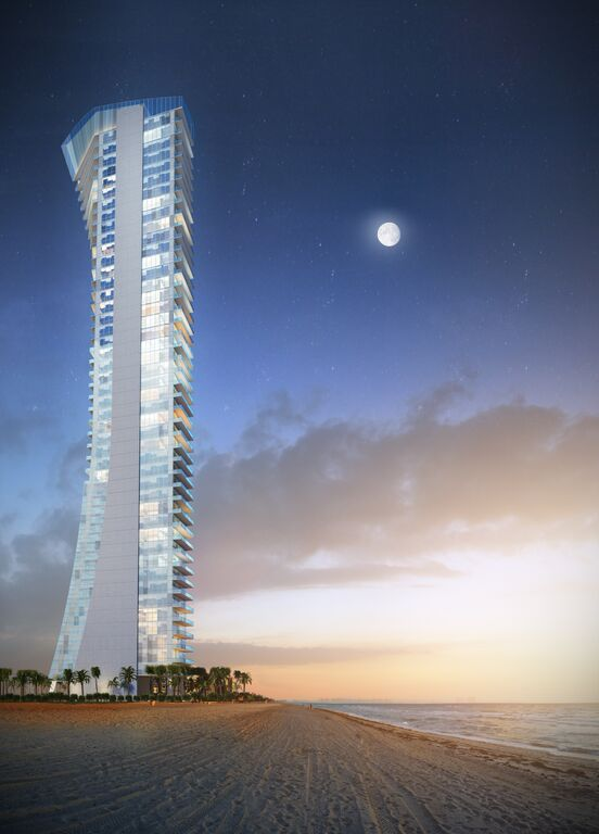 Rendering of Muse Sunny Isles