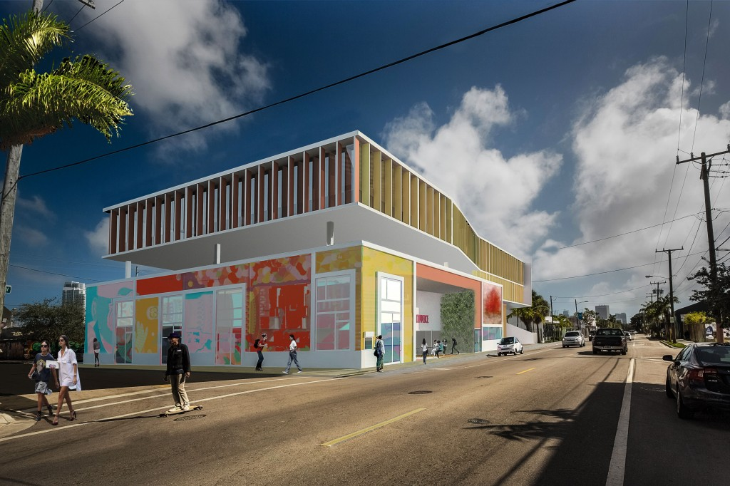 Puerto Rican community center and government offices in Wynwood