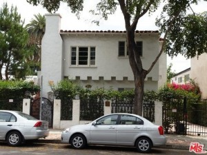 Where JIm Morrison is said to have lived in West Hollywood, California