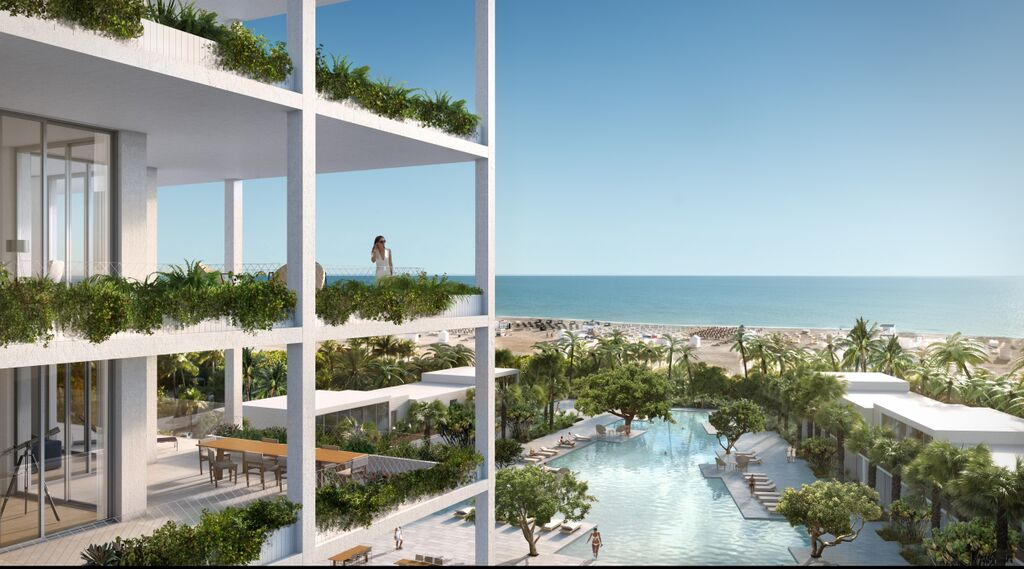Rendering of the Fasano Hotel & Residences at Shore Club