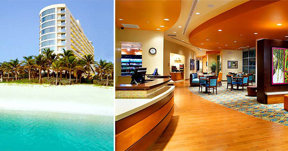 The Residence Inn Fort Lauderdale Pompano Beach at 1350 North Ocean Boulevard
