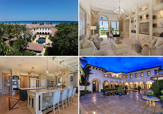 The mansion at 969 South Ocean Boulevard in Delray Beach