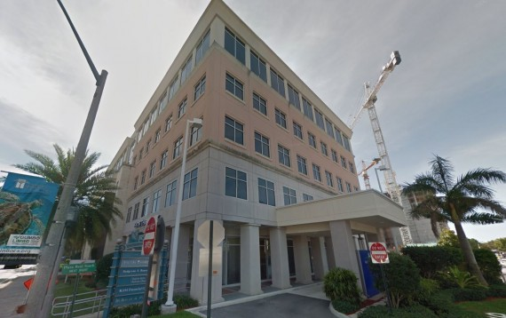 The office building at 150 East Palmetto Park Road in Boca Raton