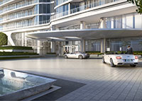 Rendering of the Bristol condominium in West Palm Beach