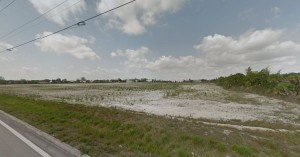The 22-acre development site in Coral Springs