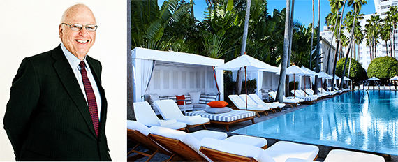 Howard Lorber and the Delano South Beach