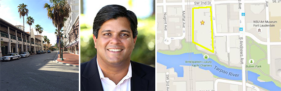 Las Olas Riverfront and Dev Motwani