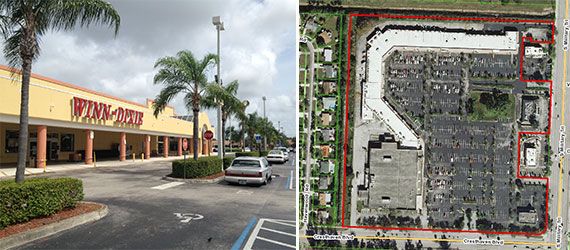 The Shoppes at Cresthaven in unincorporated Palm Beach County