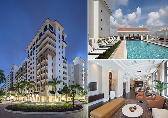 The Mark at Cityscape, Ram's newly built apartment community in Boca Raton