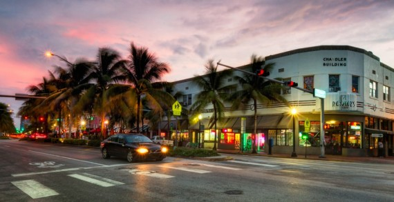 Washington Avenue in Miami Beach (Credit: Pedro Szekely)